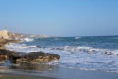 Parte anteriore di mare ad area di Amathus Immagine Stock