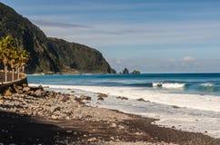 Parte anteriore di mare di Seixal Fotografie Stock Libere da Diritti