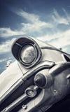 Parte anteriore di un'automobile classica degli Stati Uniti fotografia stock