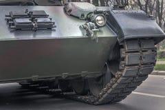 Parte anteriore di un veicolo militare Immagine Stock Libera da Diritti