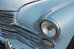 Parte anteriore di vecchia automobile 60s Fotografia Stock