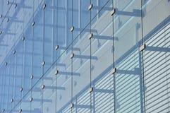 Parte anteriore di vetro di una costruzione Immagine Stock Libera da Diritti