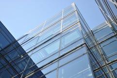 Parte anteriore di vetro di una costruzione Fotografie Stock Libere da Diritti