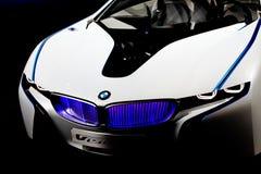 Parte anteriore di visione dell'automobile di concetto di BMW Fotografia Stock Libera da Diritti