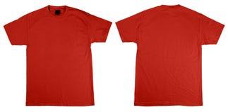 Parte anteriore e parte posteriore della maglietta Fotografie Stock Libere da Diritti