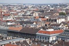 Panorama de Budapest. A vista da parte superior Fotografia de Stock Royalty Free