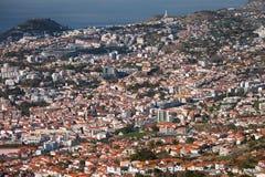 Parte centrale di Funchal, Madera Fotografie Stock