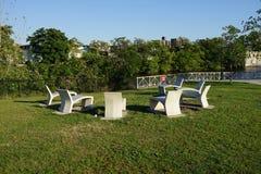 Parte concreta 3 49 del parque de la planta Imagenes de archivo