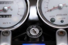 Parte d'annata del motociclo, concetto del trasporto immagini stock