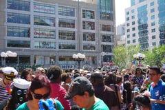Parte 4 21 da batalha NYC 2015 da bolha Foto de Stock Royalty Free