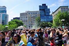 Parte 4 2 da batalha NYC 2015 da bolha Fotografia de Stock Royalty Free
