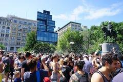 Parte 3 99 da batalha NYC 2015 da bolha Foto de Stock