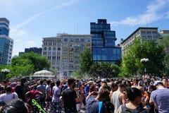 Parte 3 94 da batalha NYC 2015 da bolha Fotos de Stock Royalty Free