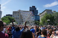 Parte 3 75 da batalha NYC 2015 da bolha Imagem de Stock