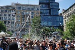 Parte 3 73 da batalha NYC 2015 da bolha Imagens de Stock