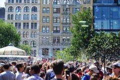 Parte 3 27 da batalha NYC 2015 da bolha Imagem de Stock