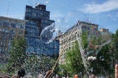 Parte 2 66 da batalha NYC 2015 da bolha Imagem de Stock Royalty Free