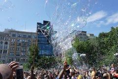 Parte 2 59 da batalha NYC 2015 da bolha Imagem de Stock Royalty Free