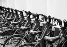 Parte da bicicleta de Melbourne Imagem de Stock Royalty Free
