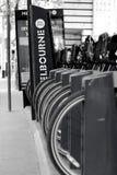 Parte da bicicleta de Melbourne Foto de Stock