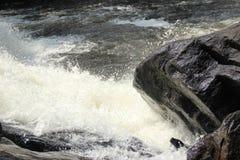 Parte da cachoeira Fotos de Stock