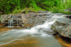 Parte da cachoeira de Huailuang imagem de stock