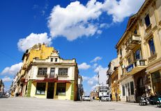 Parte da cidade velha de Constanta, Romênia Imagem de Stock Royalty Free