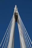 Parte da estrutura da ponte de Hungerford imagens de stock