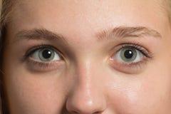 Parte da face da mulher Imagem de Stock