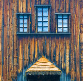 Parte da igreja de madeira Fotografia de Stock Royalty Free