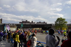 A parte 2015 da maratona do TCS New York City 3 82 Fotos de Stock Royalty Free
