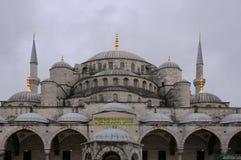 Parte da mesquita azul foto de stock