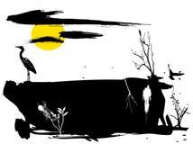 Parte da natureza 3 Ilustração Stock