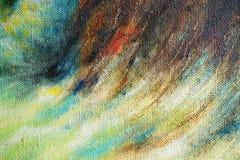 parte da pintura a óleo imagens de stock