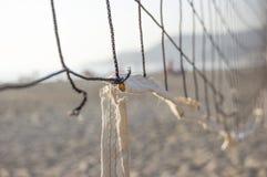 Parte da rede do voleibol Fotografia de Stock Royalty Free