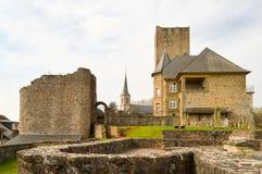 Parte da renovação do castelo Foto de Stock Royalty Free