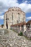Parte da torre da fortaleza de Yedikule Fotografia de Stock