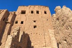 Parte da vila antiga de Ait Benhaddou em Marrocos Fotografia de Stock Royalty Free