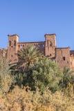 Parte da vila antiga de Ait Benhaddou em Marrocos Fotos de Stock Royalty Free