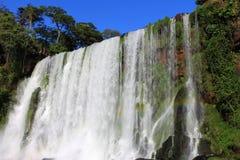 Parte das cachoeiras as mais grandes na terra Imagens de Stock