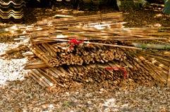 Parte de bambu Foto de Stock Royalty Free