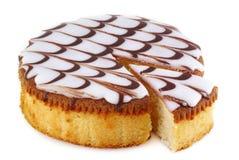 Parte de bolo. Imagem de Stock Royalty Free