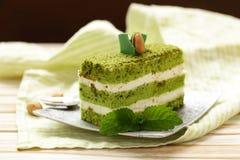 Parte de bolo delicioso Fotografia de Stock Royalty Free
