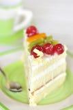 Parte de bolo delicioso Imagens de Stock