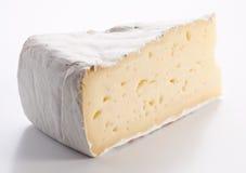 Parte de brie do queijo foto de stock