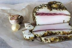 Parte de carne de porco Imagem de Stock Royalty Free