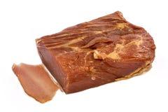 Parte de carne fumada Foto de Stock