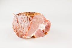 Parte de carne fumada Fotografia de Stock