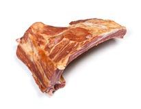 Parte de carne fumada Imagens de Stock Royalty Free