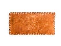 Parte de couro decorada com corda Foto de Stock